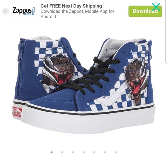 jurassic park vans chaussures
